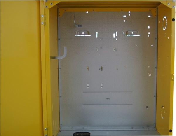Kast In Metaal Afsluitbaar 730x570x300 Ral 1023 Geel